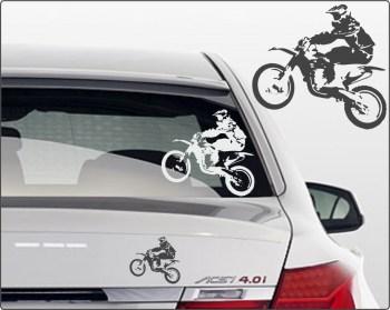 motocross Sticker für Autos