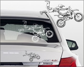 motocross Aufkleber für Transporter