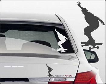 Skateboardfahrer Sticker