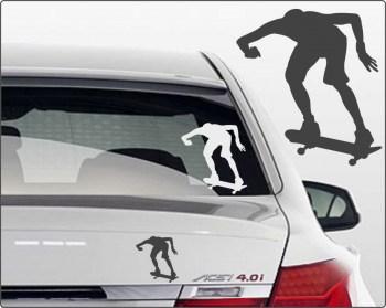 Sticker skateboarden