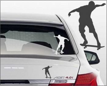 Aufkleber Skater