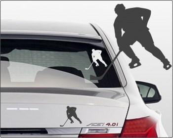 Aufkleber Eishockeyspieler
