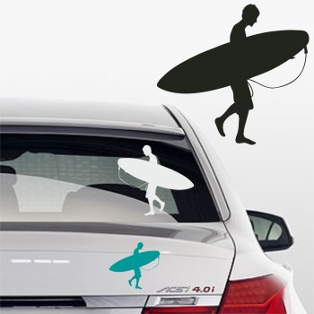 Autoaufkleber Wellenreiten
