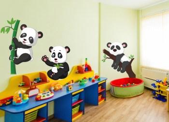 Wandtattoo Pandabären Pandabär