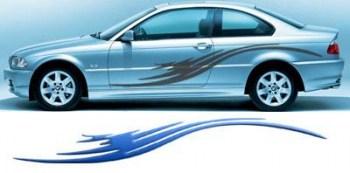 Fahrzeugaufkleber Body Grafics 428  (als Paar geliefert)