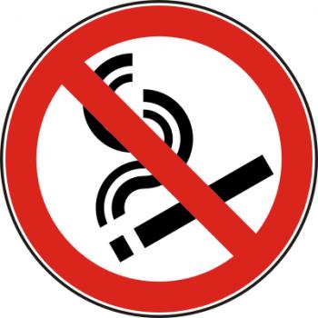 Rauchverbot Aufkleber