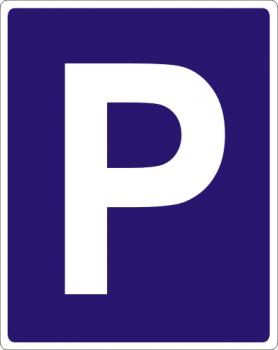 Parkplatz  Aufkleber !!!