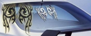 Autoaufkleber Tribal 49