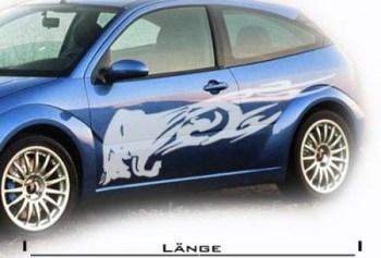 Auto-Aufkleber Stier (als Paar geliefert)