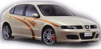 Autoaufkleber Streifen Design (als Paar geliefert)