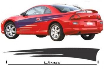 Autoaufkleber NFS Stripes 1.5 (als Paar geliefert)