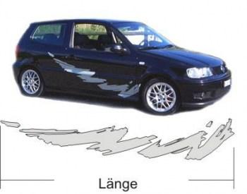 cooler Aufkleber fürs Auto (als Paar geliefert)