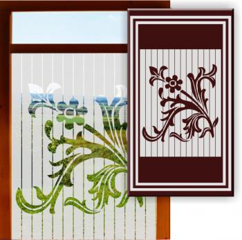 Glasgravurfolien Fenster Glastüren