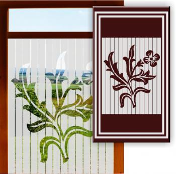 Fenstersticker Milchglas