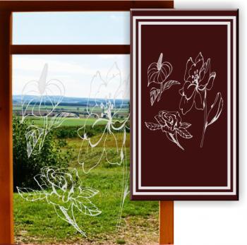 Milchglasfolie Fensterscheiben