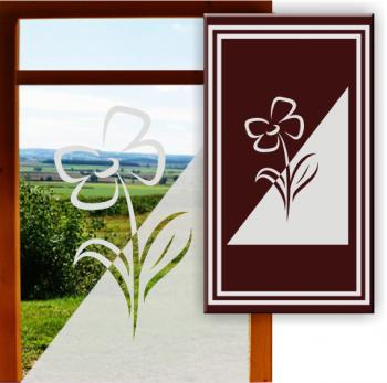 Fensterfolie Milchglas