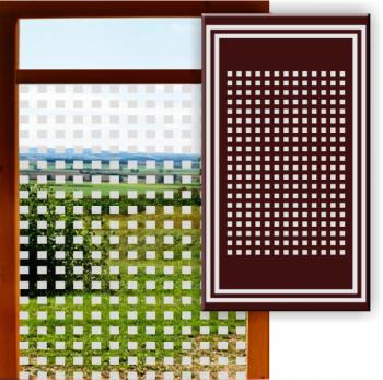 Sichtschutz mit Klebefolie