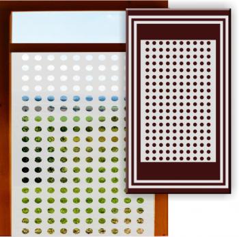 Sichtschutzfolie aus Glasgravurfolie