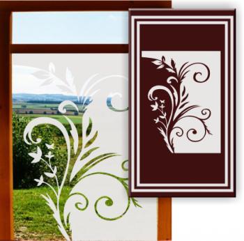 Fensterfolien Sichtschutzfolie