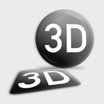 3D Aufkleber