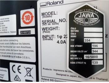 Aufkleber für Produktkennzeichnungen