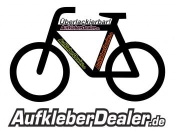 Aufkleber für Fahrräder Fahrradaufkleber