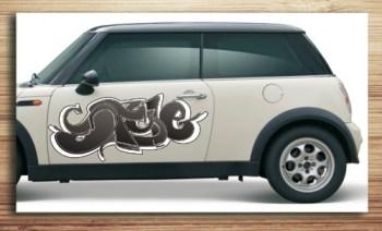 Aufkleber , Autoaufkleber Graffiti Style