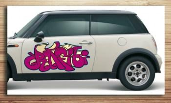 Aufkleber fürs Auto, Autoaufkleber Graffiti Style