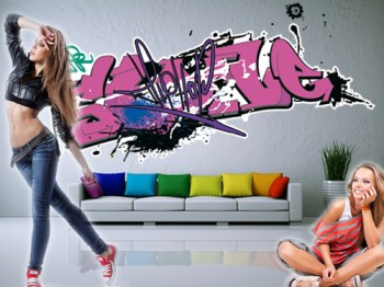 Graffiti Aufkleber Sticker