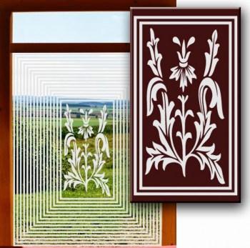 Fensterklebefolie Frosteffekt