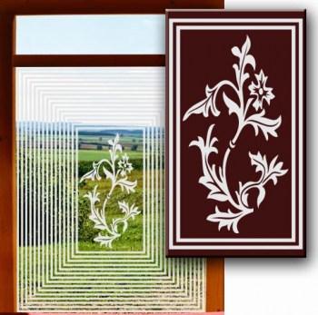 Sichtschutz für Küchenfenster