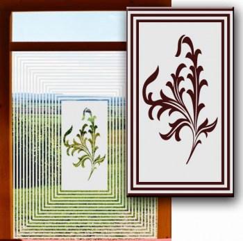 Sichtschutz schaffen mit Klebefolien