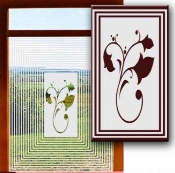Klebefolie für Glastüren und Fensterscheiben
