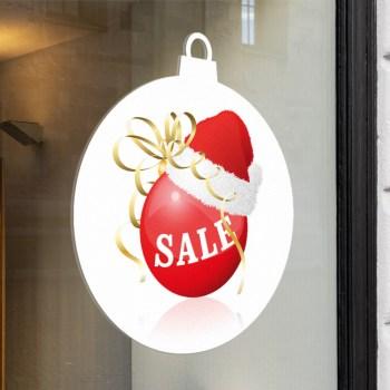 Weihnachten Sale als Aufkleber oder auf Adhäsionsfolie