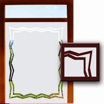 Fensterdesignfolie Sichtschutz