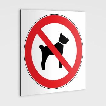Hundeverbotsschilder - Hunde verboten!