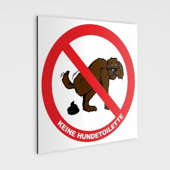 Schild - Hier ist keine Hundetoilette!