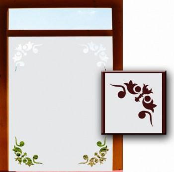 Milchglasfolie für Fensterscheiben