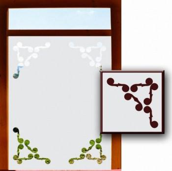 Sichtschutz in Milchglasoptik