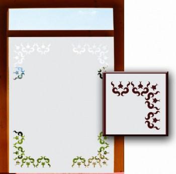 Klebefolie für Fensterscheiben