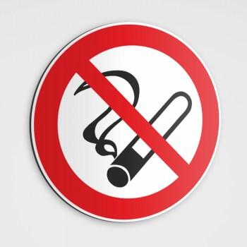 Verboten! Rauchverbot Schild, rauchen verboten Aufkleber