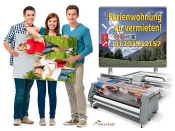 Fotodrucke Bilderdruck Großformatdruck