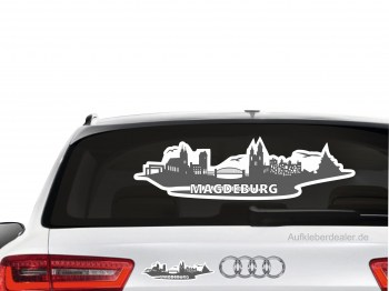 Aufkleber Magdeburg