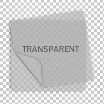 transparente Aufkleber