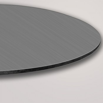 Schilder oval geschnitten