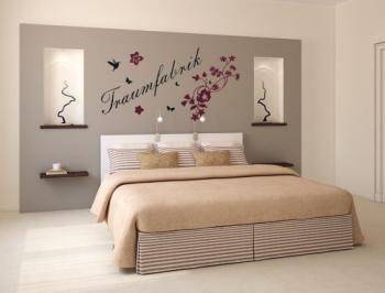 Schlafzimmer Wanddekor