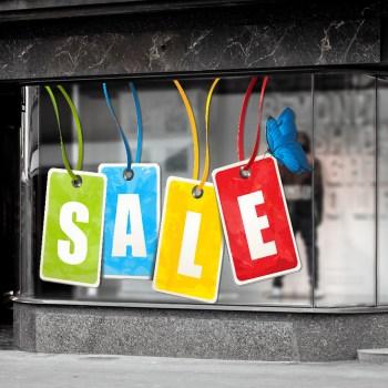 SALE - zu verkaufen Aufkleber mit freigestelltem Umriss!