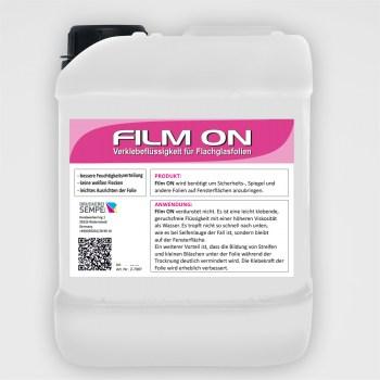 Film ON Verklebeflüssigkeit für Flachglasfolien 5 Liter