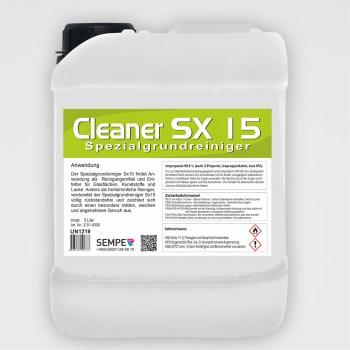 CLEANER SX15 - Spezialreiniger 5 Liter Kanister
