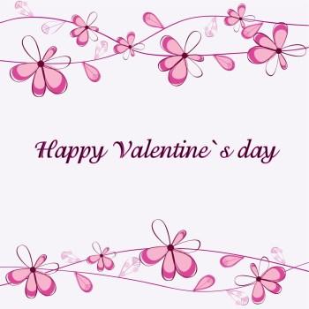 Aufkleber Valentinstag